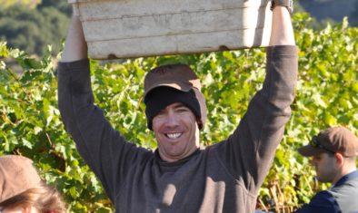 Jason Lauritsen at harvest